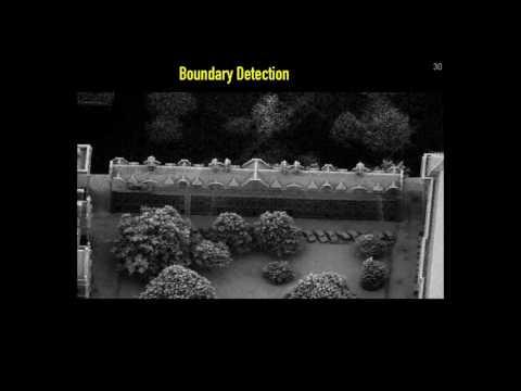 High Density Laser Scanning (LiDAR) Data Dublin: Boundary Detection
