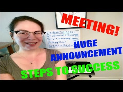 How To Get Paid Daily Online - Full Time income Online MEETING - Power Lead System Training