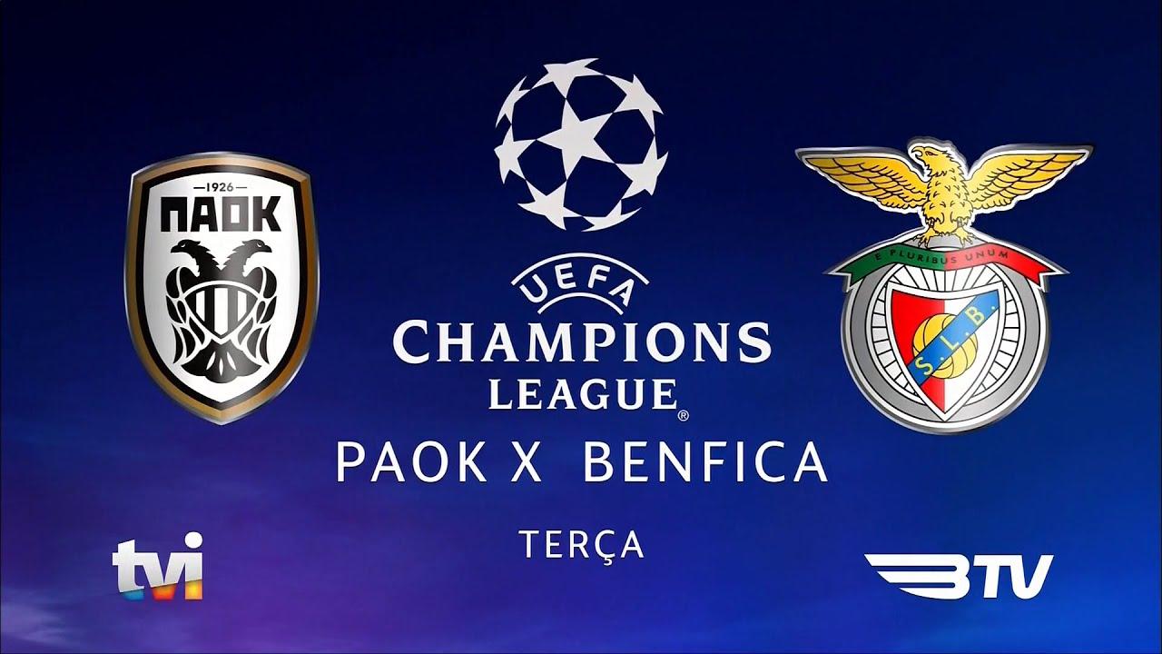 TVI - Promo PAOK vs. Benfica (2020) - YouTube