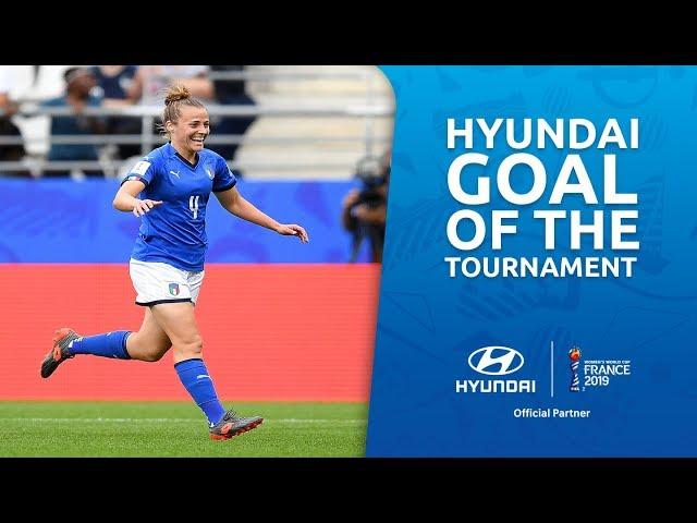 Aurora GALLI – HYUNDAI GOAL OF THE TOURNAMENT – NOMINEE