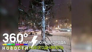 """""""Ёлка-урод"""" появилась в центре Нижнего Новгорода"""