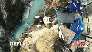 Extreme Travel Blogging (Shotover Canyon Swing Queenstown)