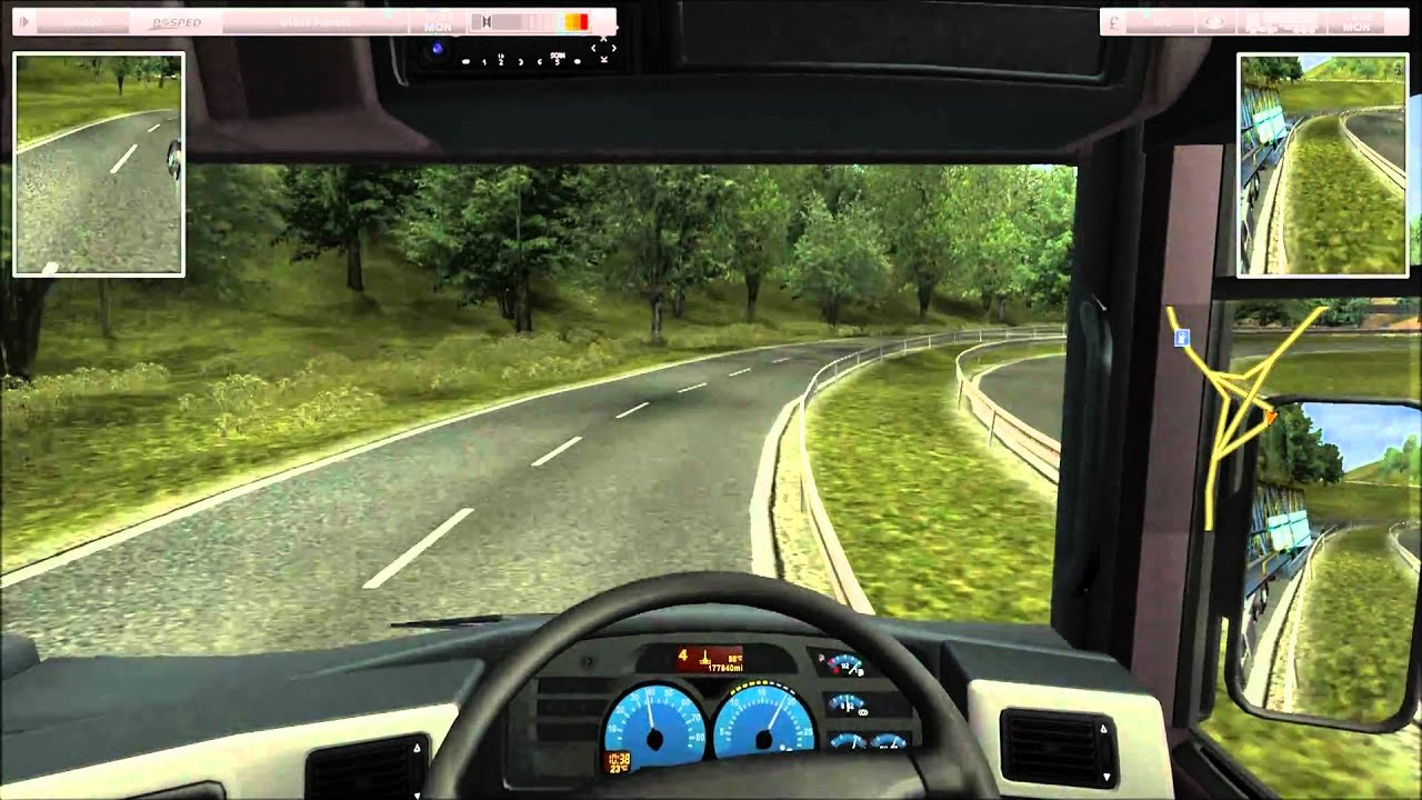 uk truck simulator gameplay review first job youtube. Black Bedroom Furniture Sets. Home Design Ideas