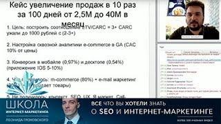Кейс: рост продаж в интернет-магазине с 2 до 40 млн за 99 дней