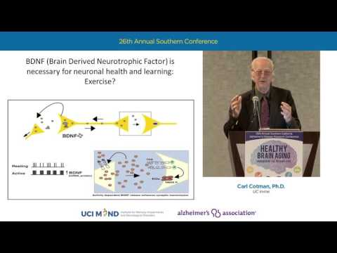 "Carl Cotman - ""Exercise and Alzheimer's Disease Research"""