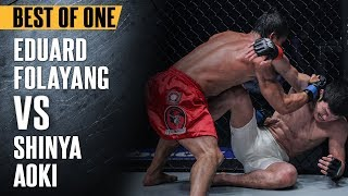 "ONE: Best Fights | Eduard Folayang vs. Shinya Aoki | ""The Landslide"" Shocked The World 