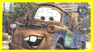 Cars Puzzle For Toddlers Mater Ravensburger пазлы тачки カーズ パズル rompecabezas de cars 赛车总动员 拼图