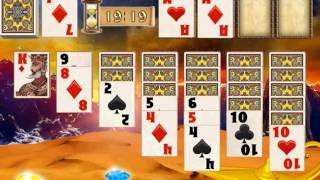 Persian Gold Solitaire gameplay video