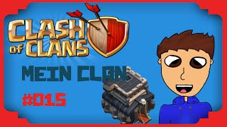 Let´s Play Clash of Clans #015 II Mein Clan!! II Worio