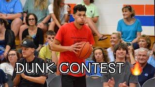 Dunk Contest 2019 Battle For The Belt: Isaiah Rivera Vs. Jordan Southerland Video