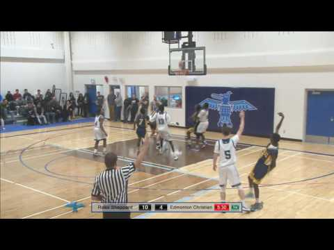 Edmonton Christian vs Ross Sheppard: Senior Boys