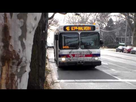 SEPTA BUS: NEW FLYER D40LF 5440 ON ROUTE: 46