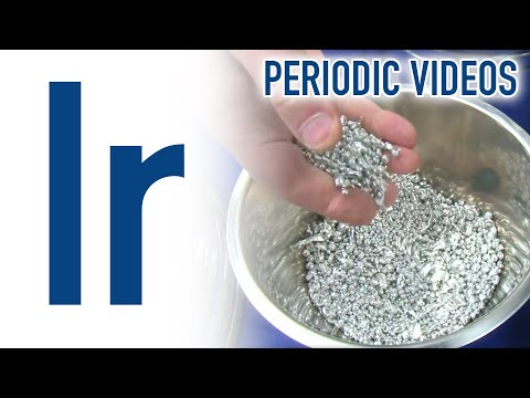 Iridium - Periodic Table of Videos