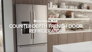 Freestanding French Door Bottom Mount Refrigerator | KitchenAid