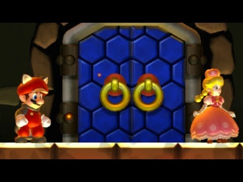 New Super Mario Bros U Deluxe Co-Op Walkthrough - World 3 (2 Player)