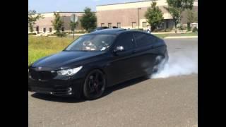 BMW 550 GT Burnout