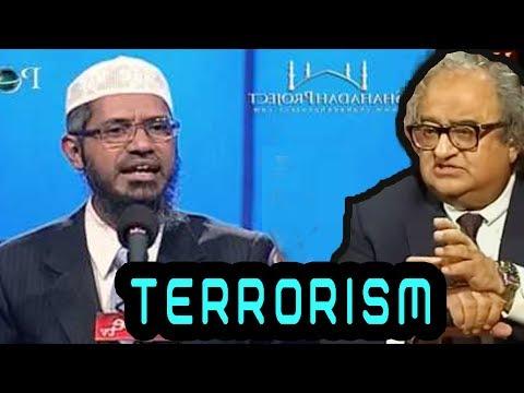 Dr Zakir Nair and  Tarak Fatah Debate on,  Terrorism Having a Religion or Not?