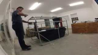 Assembling the Ecogas Israel Home Biogas system: timelapse