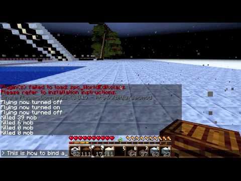 minecraft world edit single player 1.4.7  youtube
