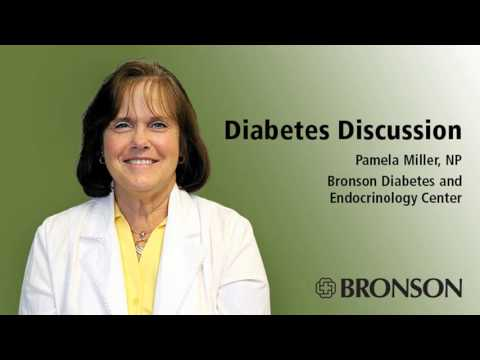 Diabetes Discussion Radio Chat With Pamela Miller, NP