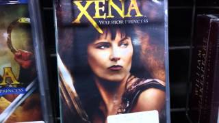 Hercules and Xena dvds - a walk through of dvd area