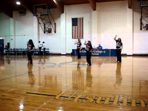 Ursuline College's Dancing Arrows First Performance 2011