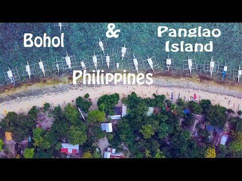 BOHOL & PANGLAO ISLAND, PHILIPPINES 4K DRONE FOOTAGE
