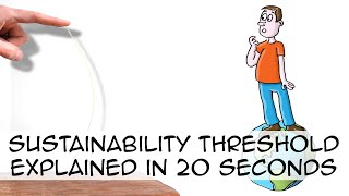 Sustainability: the breaking point explained in 20 seconds