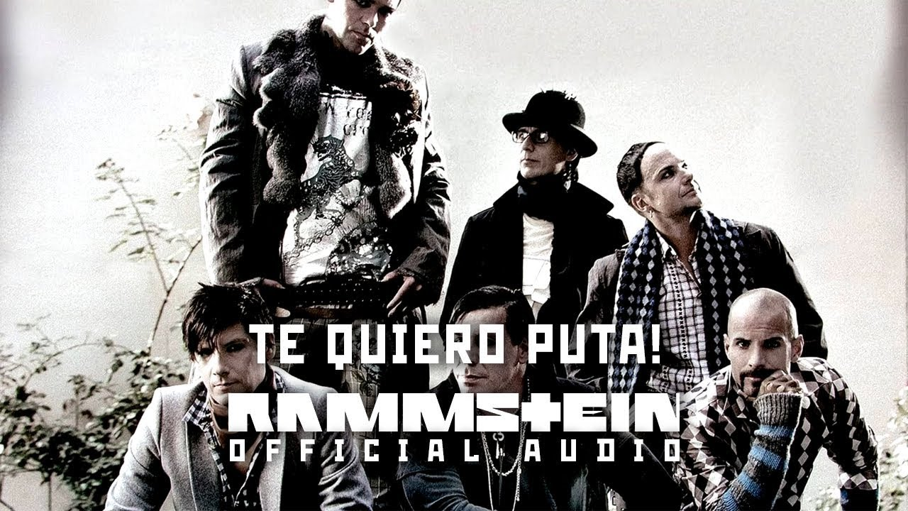 Rammstein - Te Quiero Puta! (Official Audio)