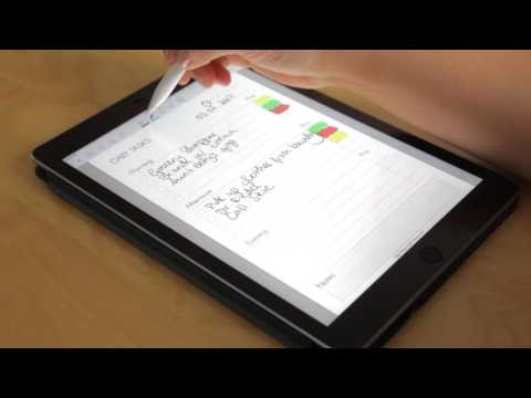 Daily Tasks GoodNotes Template for iPad