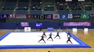 2017第70回全日本新体操選手権 青森大学 10月29日