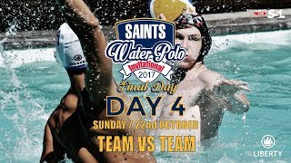 Saints Waterpolo Invitational 22 October 2017 - Final Day