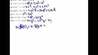 Lesson №4 Множення одночлена на многочлен