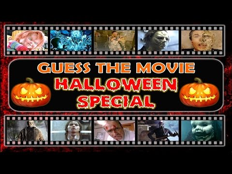 Guess the Movie HALLOWEEN SPECIAL  Movie Quiz