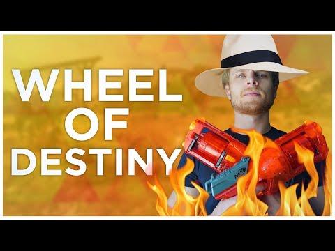Wheel of Destiny - Du kan inte filma mig när jag är naken