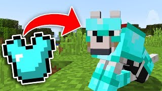 KURTLAR ELMAS SET GİYİYOR! - Minecraft