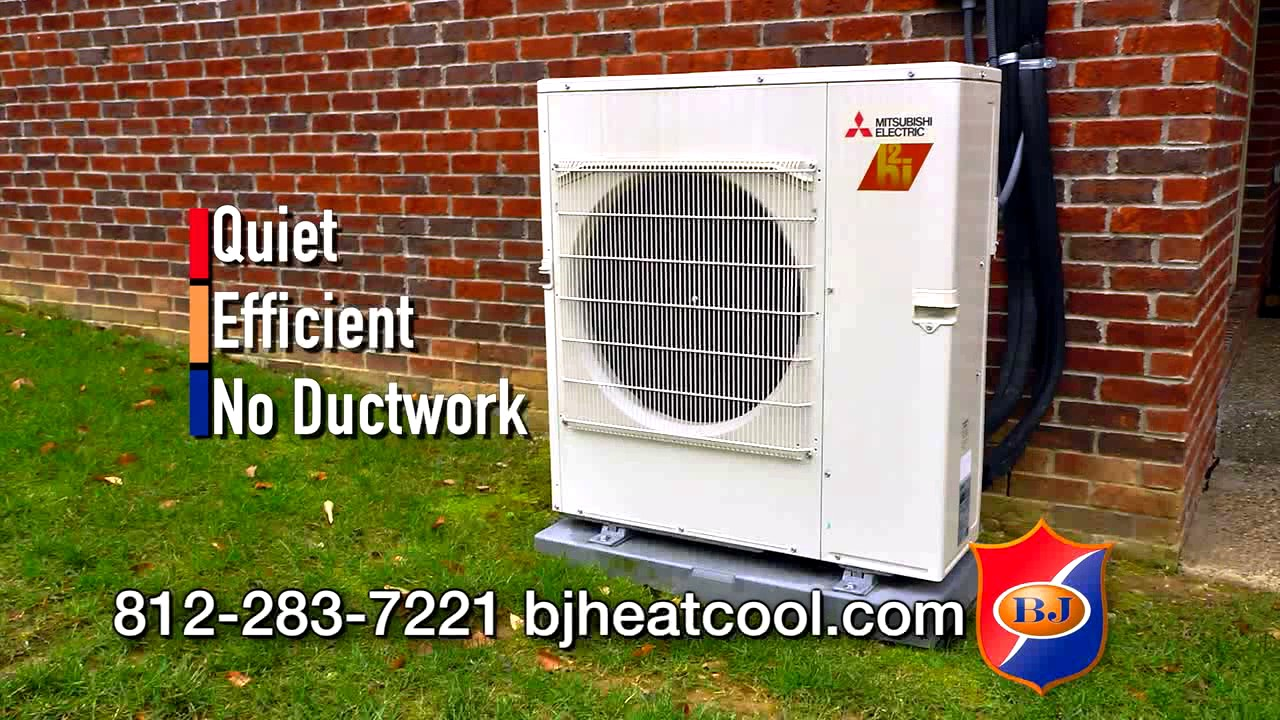 Bj Heating Cooling Mitsubishi Mini Split Commercial