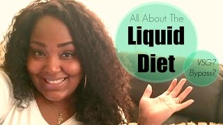 Weight Loss Surgery - Weight Loss Surgery: All About The Liquid Diet