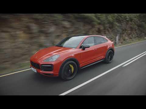 Porsche Cayenne Coupe Shows Unusual Shape In Videos, Live Pics