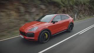 Porsche Cayenne Coupe video debut