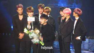 170222 6th gaon chart music awards bts 방탄소년단 and choreographer son sung deuk