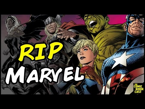 Marvel Comics Canceling 30 Series? Nothing New Here!