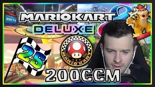 MARIO KART 8 DELUXE Part 25: Pilz-Cup 200ccm Deluxe mit Facecam