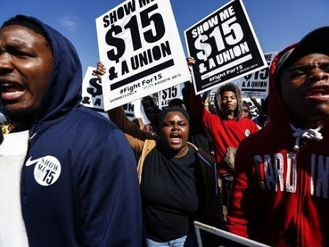 Giant $15 Minimum Wage Protest Ignored By Corporate Media
