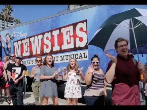 Making of the NEWSIES Movie Event: Live Capture Film Day!