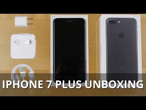Apple iPhone 7 Plus unboxing