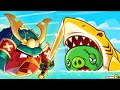 Angry Birds Fight - Super Monster Shark Pig Battle! iOS/ Android