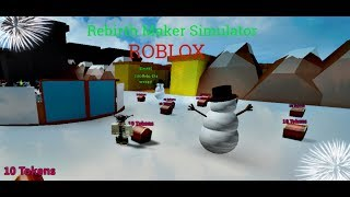 When simulator rebirths take over a simulator.. (ROBLOX Rebirth Maker Simulator)