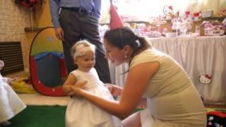 Песенка в подарок Дочке на 1 годик