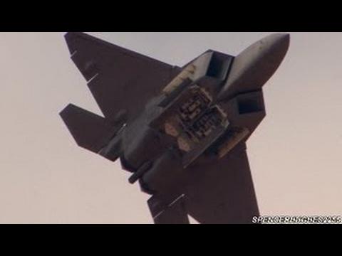 F-22 RAPTOR DEMO @ 2012 MCAS Miramar Air Show